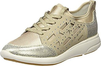 D Avery B, Zapatillas para Mujer, Beige (LT Gold/LT TAUPEC2LH6), 39 EU Geox