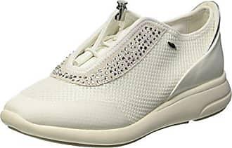 Geox Femmes D Ophira Un Chaussures De Sport - Blanc - 40 Eu GpkiiG