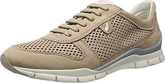 Geox D Sukie F, Chaussures Femme, Brun (taupe Lt), 40 Eu