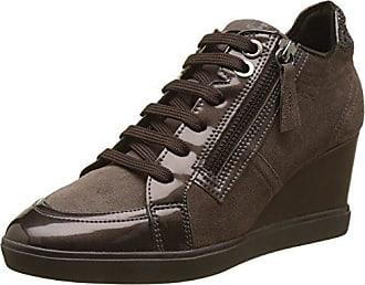 D Eleni a, Zapatillas Altas Para Mujer, Marrón (Chestnut), 41 EU Geox