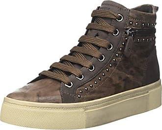 Damen D Eleni A Hohe Sneaker, Braun (Chestnut), 41 EU Geox
