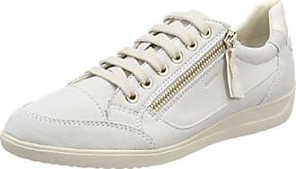 Geox D Myria C, Zapatillas Altas para Mujer, Blanco (Off White), 42 EU