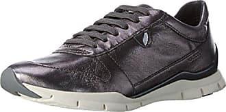 Geox D Amalthia B, Zapatillas para Mujer, Grau (GUNC1357), 36 EU