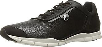 D Avery B, Damen Sneakers, Schwarz (BLACKC9999), 37 EU (4 Damen UK) Geox