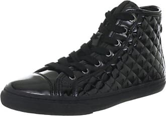 Donna Winter Club D24A1D00002C9999, Damen Fashion Sneakers, Schwarz (black C9999), EU 35 Geox