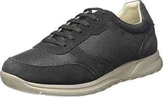 Geox U Danio C, Zapatos de Cordones Derby para Hombre, Gris (Dk Taupe), 40 EU