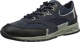 Geox U Delray a, Zapatillas para Hombre, Blau (Avio/DK REDC4276), 44 EU