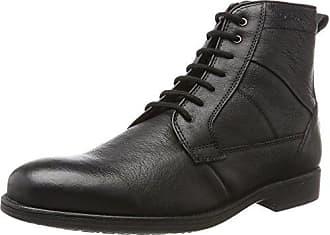 U Dublin, Boots homme - Noir (Black), 46 EUGeox