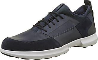 Geox U Wells C, Zapatillas Para Hombre, Azul (Navyc4064), 42 EU