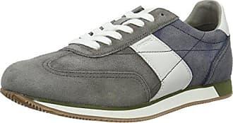 Herren U Wells A Sneaker, Grau (Anthracite), 45 EU Geox
