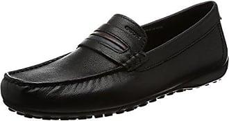 Geox U Snake MOC 2fit A, Mocassins (Loafers) Homme, Noir (Black C9999), 39 EU