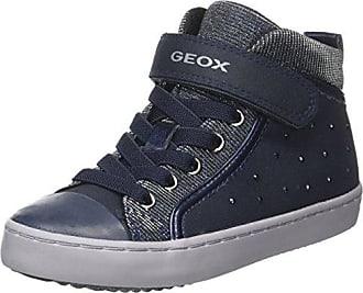 Geox J Bernie D, Zapatillas para Niñas, Azul (Navy/Bluette), 29 EU