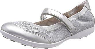 Geox Mädchen JR Jodie A Geschlossene Ballerinas, Silber (Silver), 31 EU