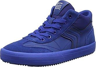 Geox Jungen J Kommodor Boy C Hohe Sneaker, Blau (Navy/Lt Blue), 38 EU