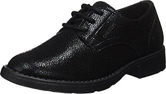 Jr Sofia I Geox, Oxford Chaussures À Lacets Pour Les Filles, Noir (noir), 28 Eu