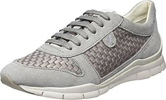 Damen D Nydame A Hohe Sneaker, Silber (Lt Grey/Silver), 36 EU Geox