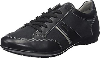 Geox Uomo Dynamic D, Baskets Basses Homme, Noir (Blackc9999), 40 EU