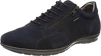 Geox U New Life a, Zapatos de Cordones Oxford para Hombre, Marrón (Cognac), 41.5 EU