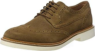 U Damocle B, Brogues Homme, Marron (Brown), 41 EUGeox