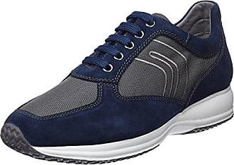 Geox U Smart B, Sneakers Basses Homme, Bleu (Navy), 47 EU