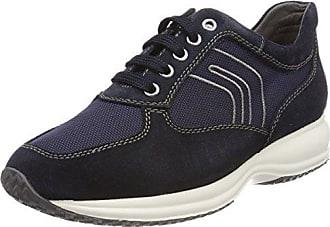 Geox U Vinto A, Sneakers Basses Homme, Bleu (Lt Navy/Navycb4F4), 43 EU