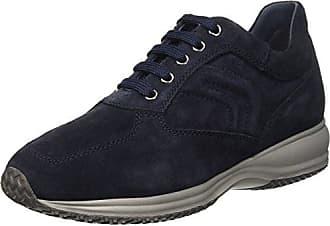 Geox U Dennie B, Sneakers Basses Homme, Bleu (Navy), 40 EU