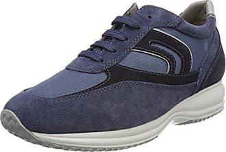 Geox U Smart C, Zapatillas para Hombre, Azul (DK ROYALC4072), 40 EU