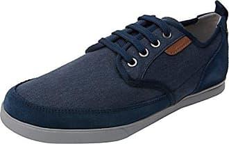 Geox U Damian C, Zapatillas para Hombre, Azul (Blue), 40 EU
