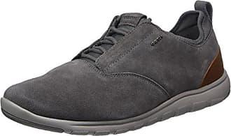 U Clemet B, Zapatillas para Hombre, Marrón (Browncotto/Brown), 46 EU Geox