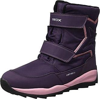 Geox J Orizont B ABX F, Botas de Nieve para Niñas, Morado (Violet), 38 EU