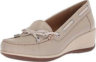 Geox D Elidia A, Mocassins (Loafers) Femme, Beige (Caramel), 39 EU