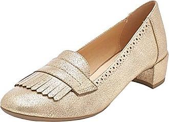 D Carey C, Zapatos de Tacón para Mujer, Dorado (Lt Taupe), 38 EU Geox