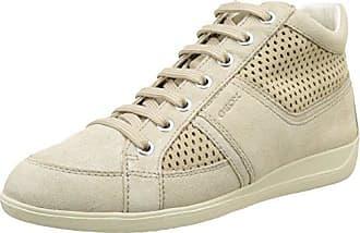 Damen D Omaya A Sneaker, Beige (Lt Taupec6738), 42 EU Geox