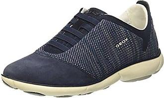 Geox D Nébuleuse Chaussures C, Femmes, Bleu (marine), 36