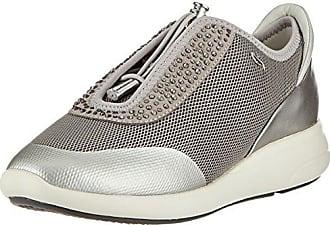 Geox D Theragon C, Zapatillas para Mujer, Azul (Denim), 37 EU