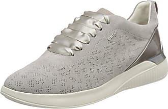 Geox D Theragon C, Chaussures Femme, Blanc (blanc), 38 Eu