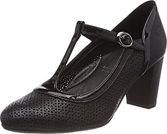 GERRY WEBER Shoes Viktoria 03, Damen Mary Jane Halbschuhe, Schwarz (Schwarz), 41.5 EU (7.5 UK)