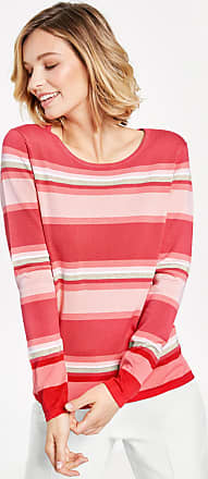 Striped jumper red-orange female Gerry Weber Clearance Official VUOho92u