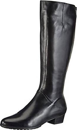 GERRY WEBER Shoes Jeanette 05, Damen Langschaft Schlupfstiefel, Schwarz (schwarz 100), 39 EU (6 Damen UK)