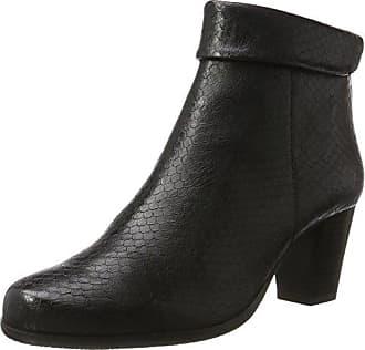 Shoes Damen Lena 02 Stiefel, Schwarz (Schwarz-Kombi (101)), 40 EU Gerry Weber