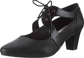 Gerry Weber Laura 11, Zapatos de Tacón con Punta Cerrada para Mujer, Negro (Schwarz), 39 EU