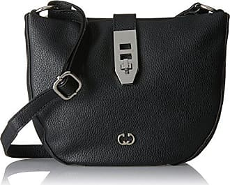 Gerry Weber Napoli Flap Bag 4080002889 Damen Umhängetaschen 22x23x2 cm (B x H x T), Schwarz (black 900) Gerry Weber