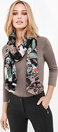 Scarf with a mixed pattern brown female Gerry Weber jnLihlzh