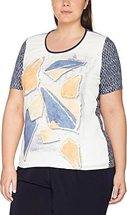 Samoon Spice It Up, T-Shirt Femme, (Persian Blue Druck 8022), 52