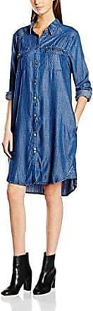 Gestuz Kendall-Vestido Mujer Azul Azul (Denim) 34 iDibcfR