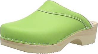 Gevavi4010 BIGH. Flexibler Clog - Zuecos Mujer, Color Azul, Talla 42