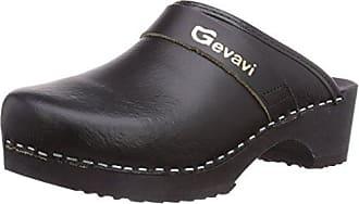 4700 Bighorn Flexibler Clog - Zuecos Unisex Adulto, Color Negro, Talla 40 Gevavi