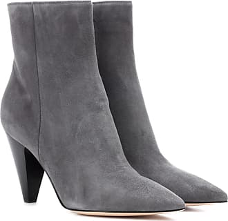 Exclusif À Mytheresa.com - Bottines En Velours Temple Gianvito Rossi OmfW8dQH