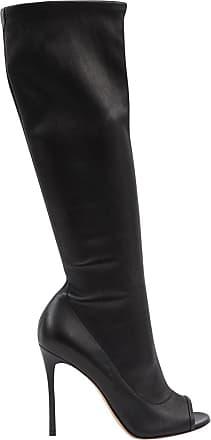 3994b7ac05719a Laura 85 Kniehohe Stiefel Aus Leder - Wollweiß Gianvito Rossi Billige Wiki  Rabatt Großer Verkauf Günstig