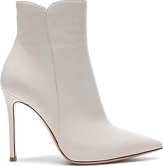 Nappa Leather Levy Ankle Boots in Neutrals,White. - size 37.5 (also in 35,36,36.5,37,38,38.5,39,39.5) Gianvito Rossi